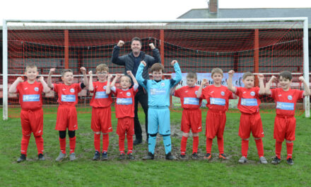 Under-eight footballers prove a match for the adults thanks to My Property Box sponsorship