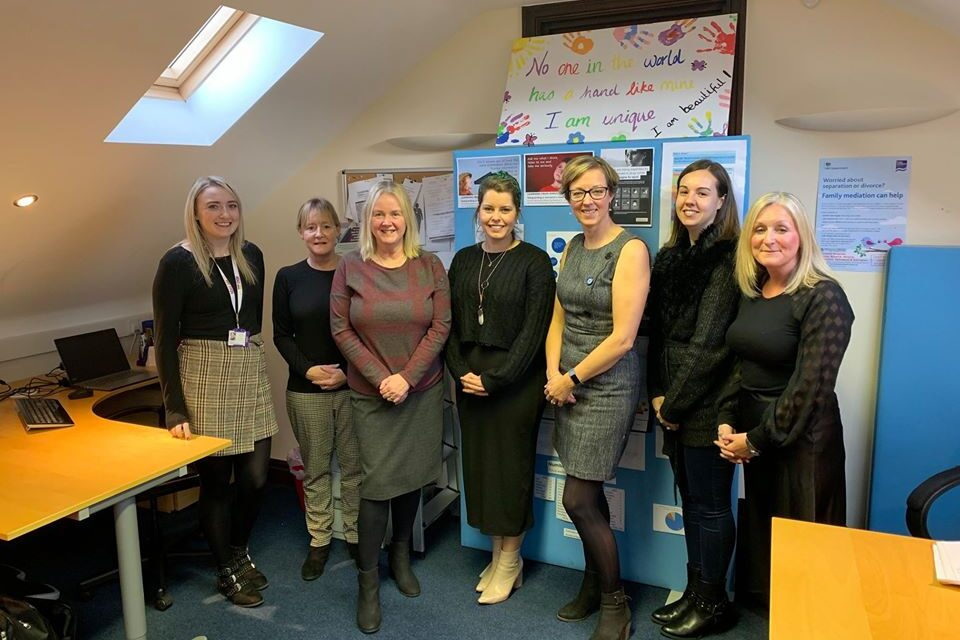 Northumberland Domestic Abuse Service Extending Its Reach With Newcastle Building Society Grant Society