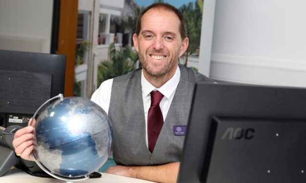 Travel specialist has the wind in its sails