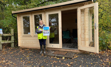 Major boost to volunteers and visitors at local nature reserve