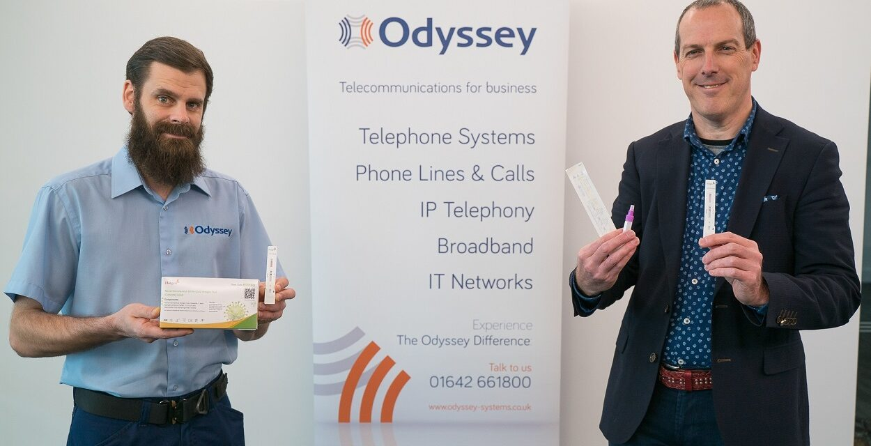 Odyssey Systems invests in rapid coronavirus tests to keep staff and clients safe