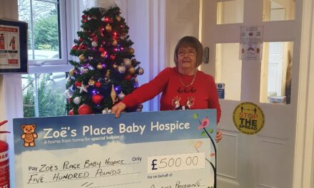 The Materials Processing Institute responds to the UK's only baby-specific hospice appeal with £500 donation