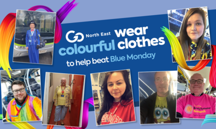 Go North East lightens mood across the region on Blue Monday