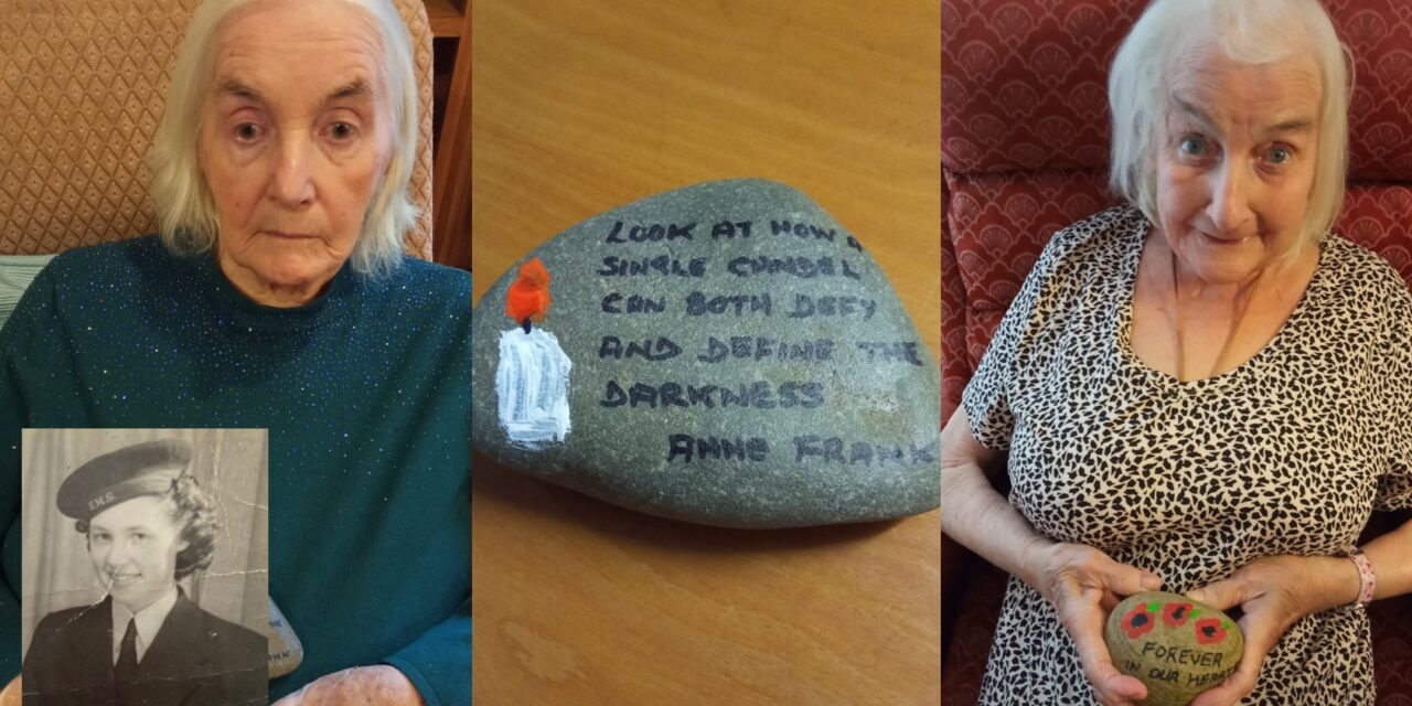 Holocaust victim Anne Frank inspires Saltburn care home resident ahead of memorial day