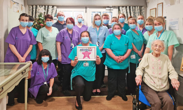 Healthwatch Award For Care Home