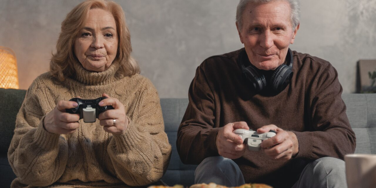Shielding measures for the elderly leads to a sharp uptake in 'Gaming' for the over 65s