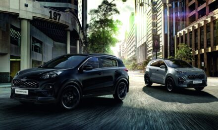 Kia reveals stylish new Sportage – JBL® Black Edition