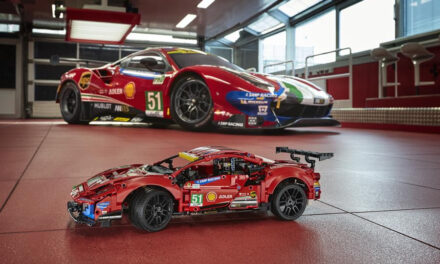 ACCELERATE INTO THE ADRENALINE-FUELLED WORLD OF ENDURANCE RACING WITH THE LEGO® TECHNIC™ FERRARI 488 GTE AF CORSE #51