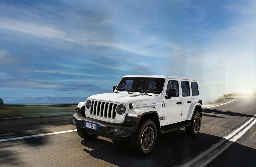 Jeep® celebrates 80 years of history and innovation