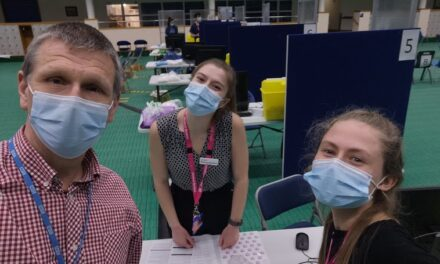Pride of the University: Student doctors join the national vaccination effort