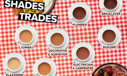 evealed: the UK tradespeople who drink the strongest tea