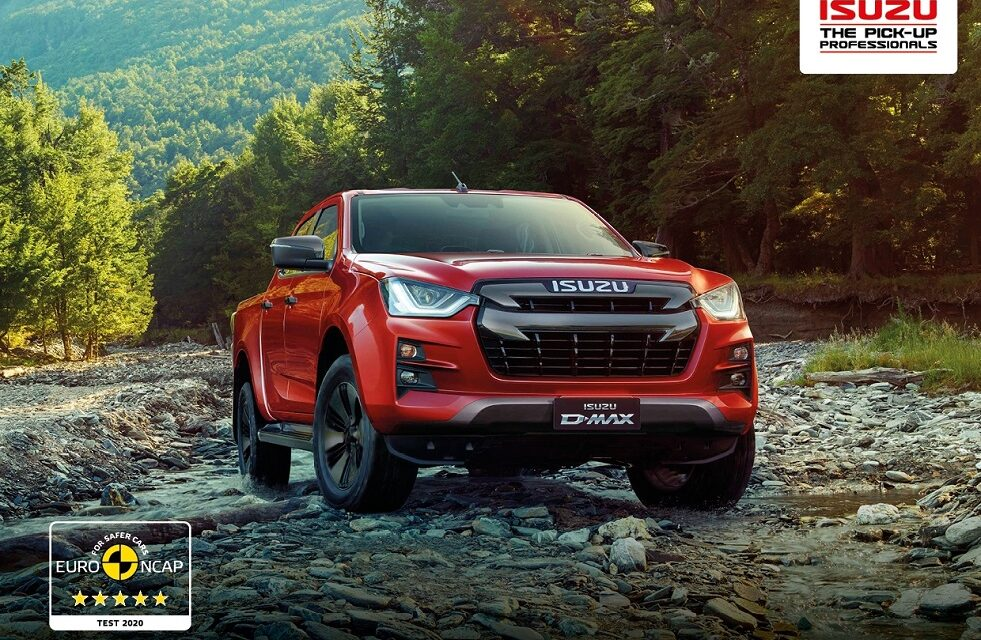 All-New Isuzu D-Max: First Pick-Up to Achieve 5 Stars in the Latest Euro NCAP Test