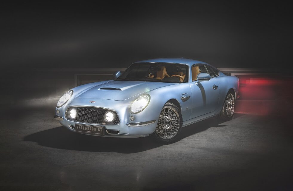 David Brown Automotive to deliver latest Speedback GT commission to Germany in beautiful 'Blue Moon'