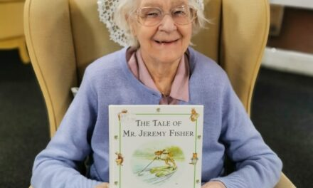 MORPETH CARE HOME BECOMES SOCIAL MEDIA SENSATION FOR NATIONAL STORYTELLING WEEK