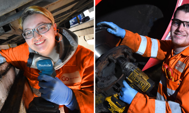 Go North East celebrates its apprentices ahead of National Apprenticeship Week