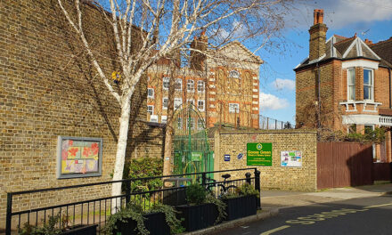 100% recycled plastic smog shields improve air quality for primary school pupils in London