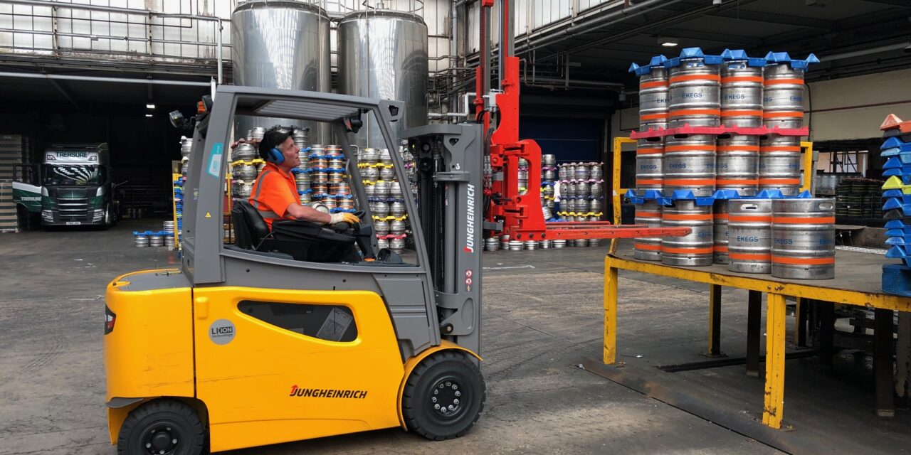 Camerons Brewery cuts costs and improves energy efficiency with Jungheinrich