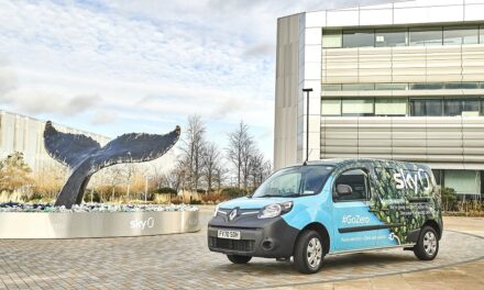 Renault Kangoo Z.E. enables Sky to tune into the benefits of 100 per cent electric commercial vehicles