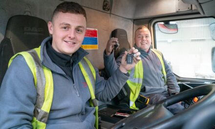 Moody Logistics uses National Apprenticeship Week to highlight its driver training successes