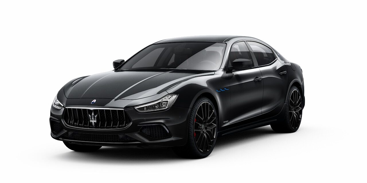 Maserati GB introduces new Sportivo Special Edition for Levante and Ghibli