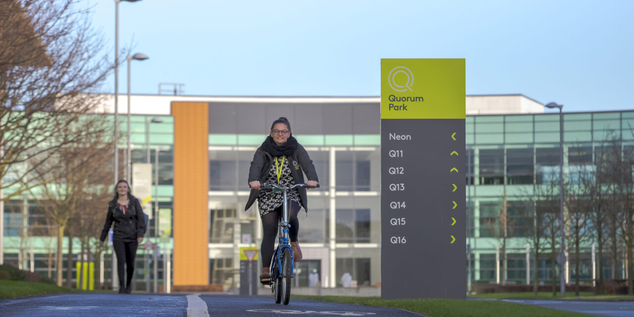 New Quorum Park app paves the way for Active Travel