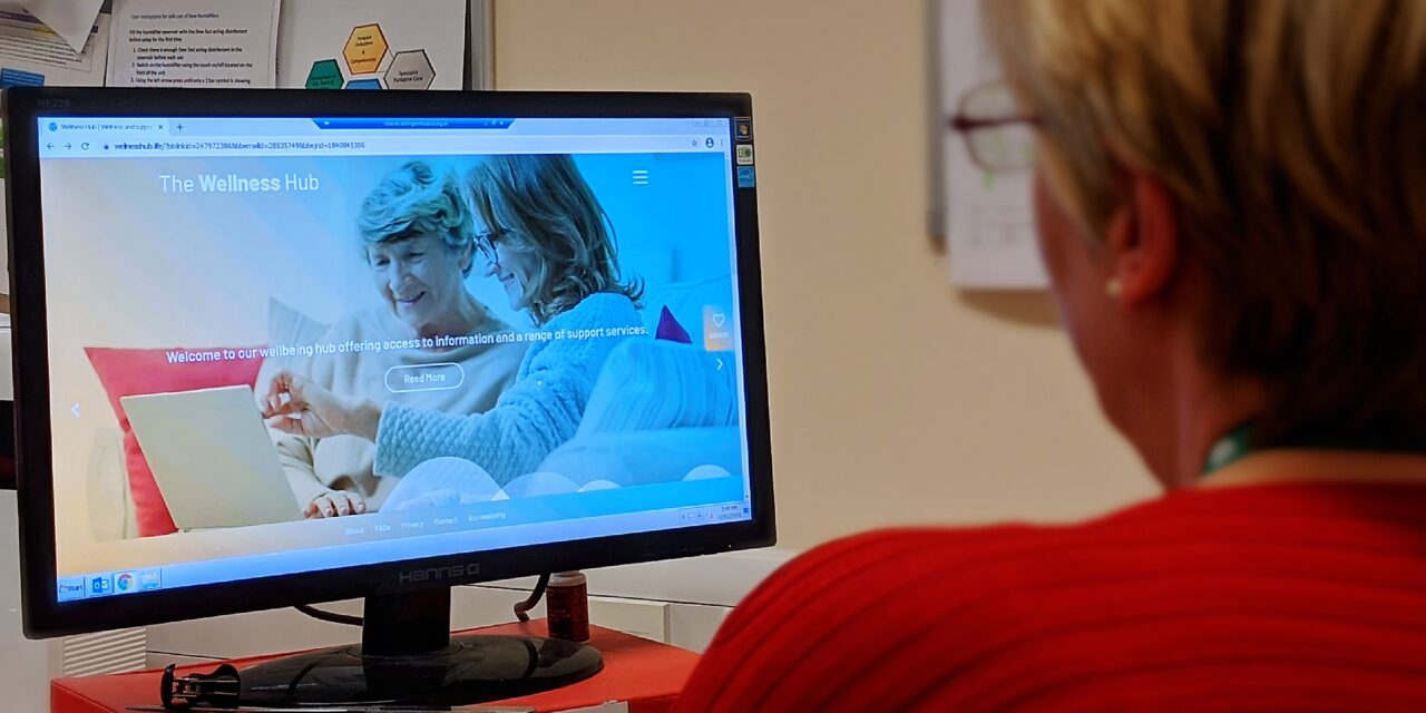 Hard-hit hospice launches online wellbeing hub for patients