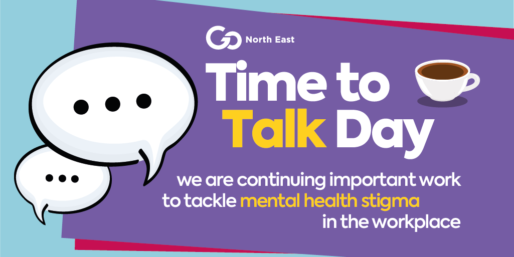 Go North East continues important work to tackle mental health stigma