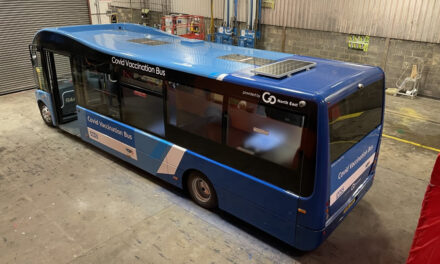 Innovative new vaccination bus partnership aims to increase vaccination take-up in Newcastle