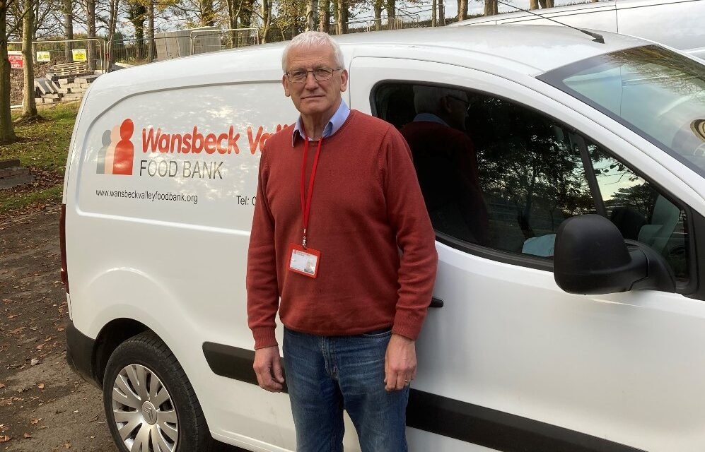 Wansbeck Valley Food Bank Volunteers Out On The Road With Newcastle Building Society Support