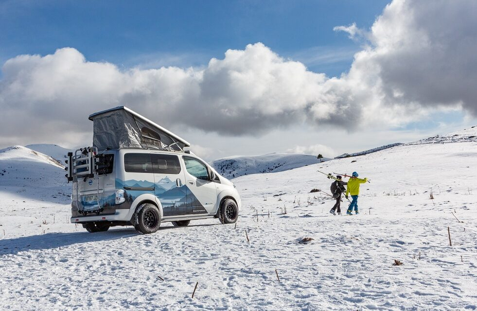 Nissan energises adventure with the all-electric e-NV200 Winter Camper concept