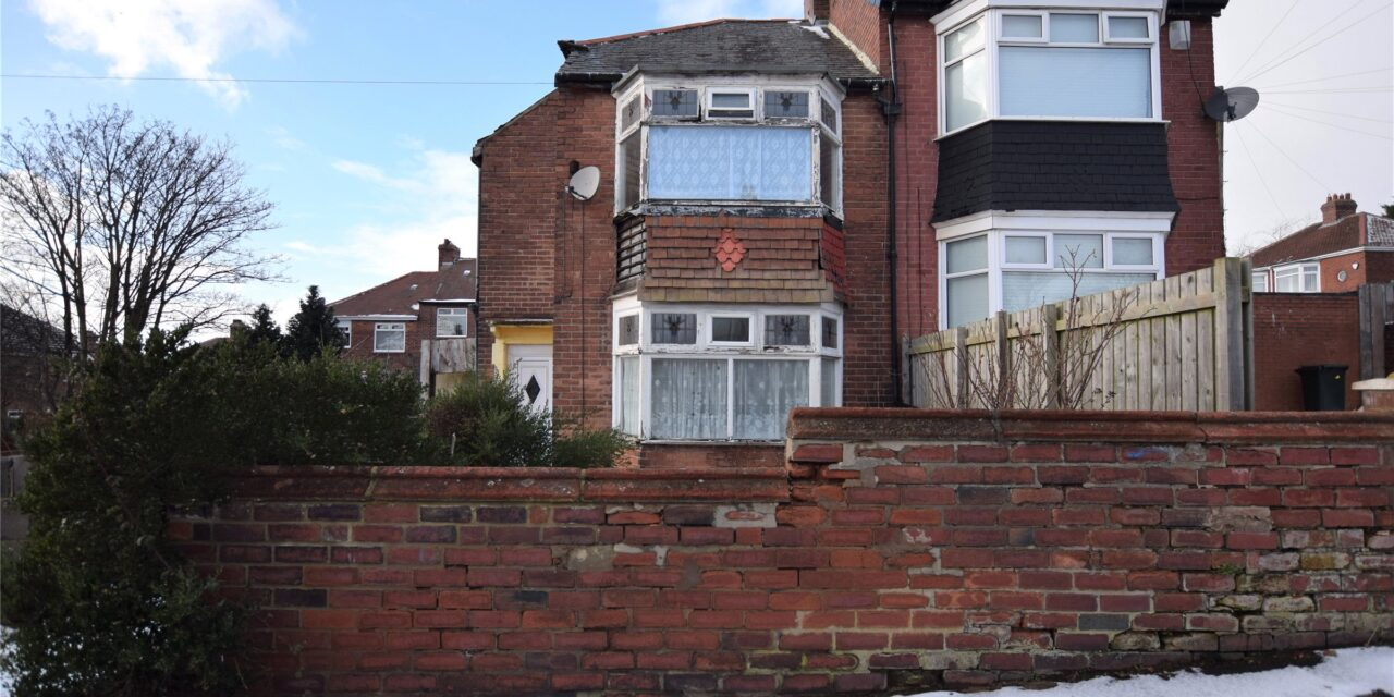 £1 NEWCASTLE HOME TO BE AUCTIONED BY SARAH MAINS