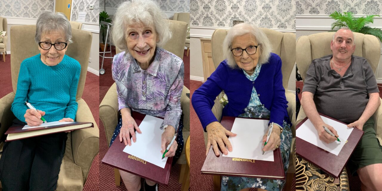 Giants and mermaids in care home creative writing class