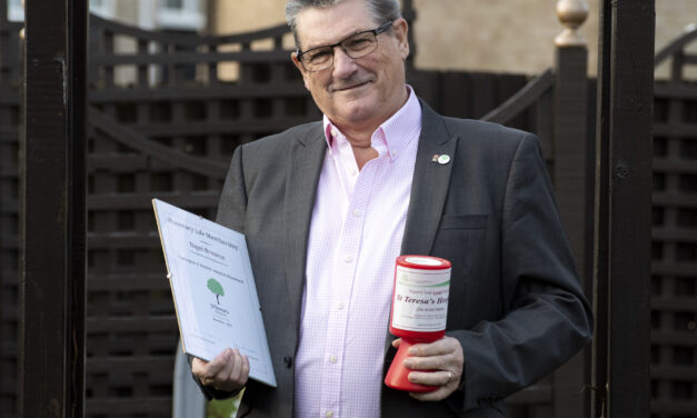 Stalwart fundraiser hangs up his collection boxes after raising tens of thousands of pounds for hospice