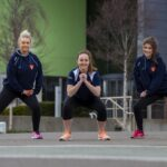 The exercise effect: Online sessions help boost netball team during pandemic