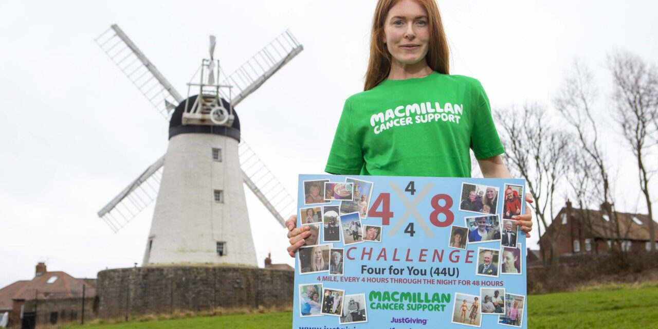 Student takes on 56-mile running challenge for those affected by cancer