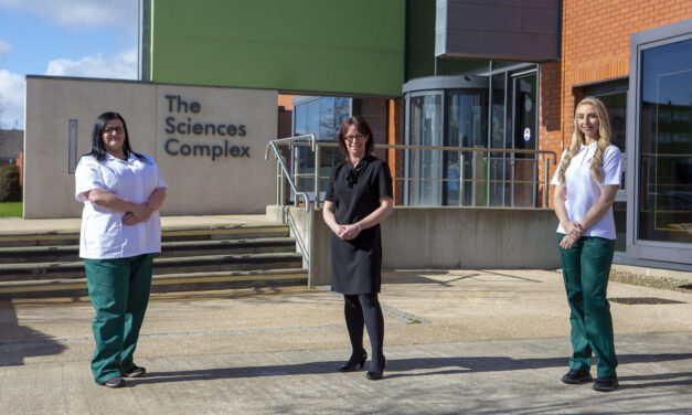 Student project supports mental health charity