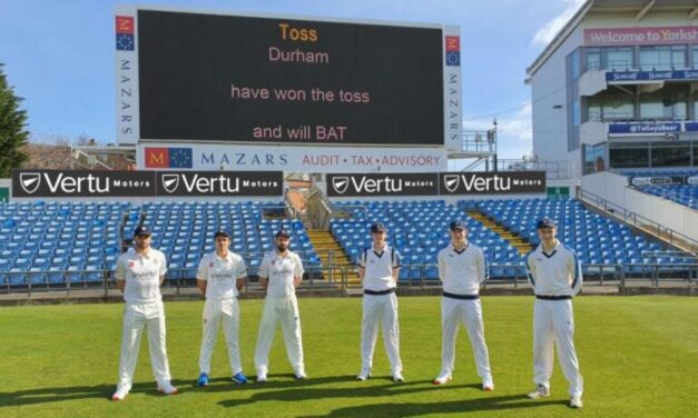 VERTU MOTORS GOES IN TO BAT FOR YORKSHIRE AND DURHAM CRICKET CLUBS