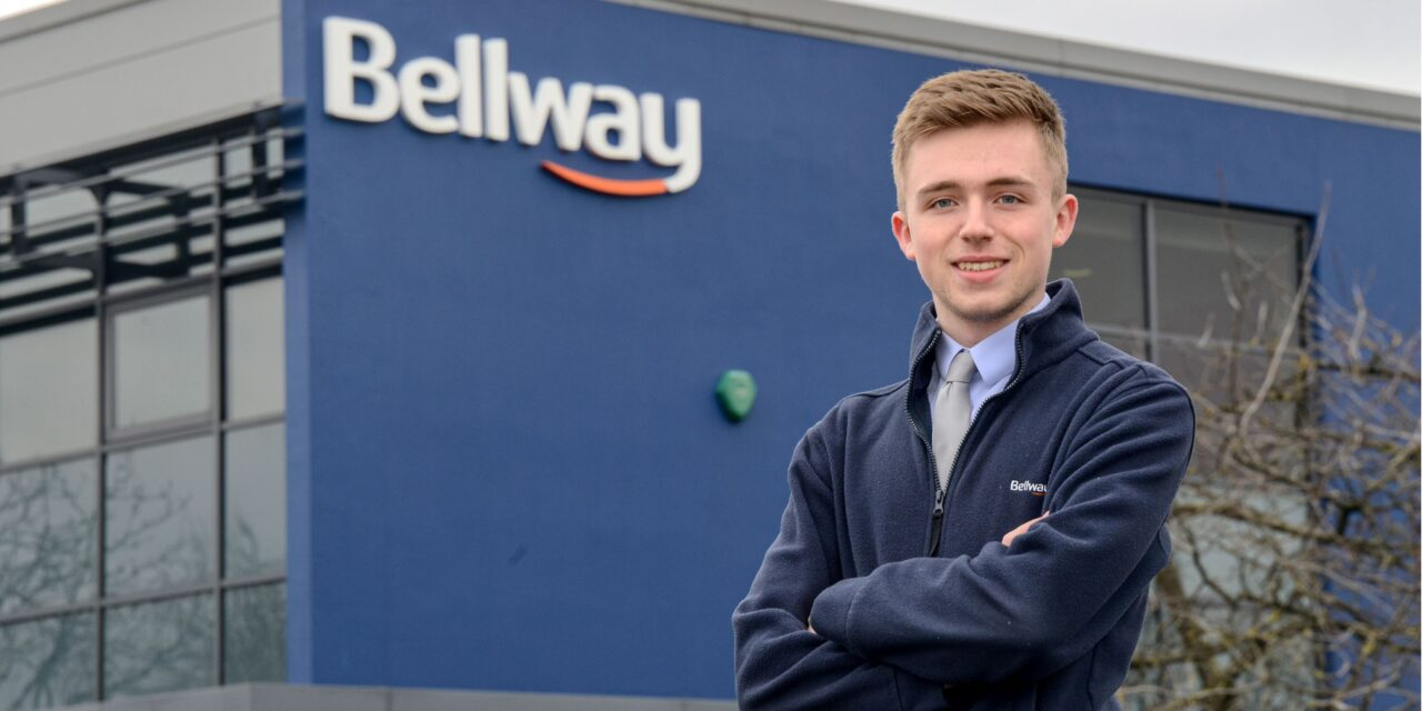 Young apprentice from Durham wins award with national housebuilder
