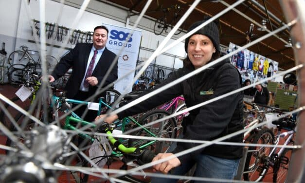 SOS GROUP SUPPORT LOCAL BIKE RECYCLING CHARITY