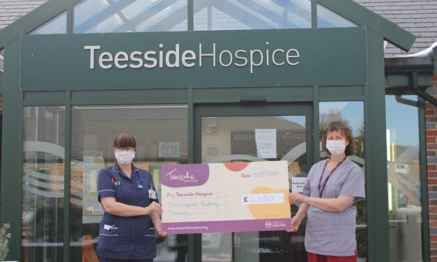 Hospice staff more comfortable thanks to £4,550 building society donation