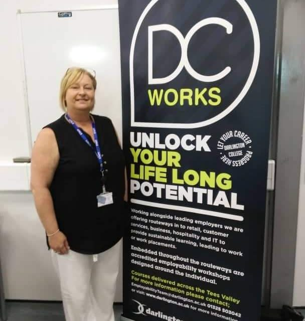 Darlington College steps in to help as COVID kills off job for life concept
