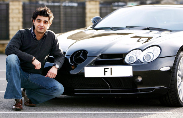 21 of the most expensive car number plates in UK