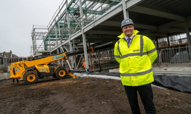 Supply chain report shows more than 80% of subcontractors working on new South Shields Jobcentre Plus construction site are North East-based