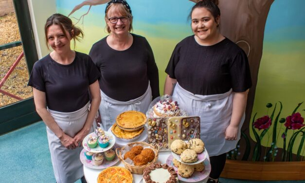 Hospice catering staff rise to the occasion