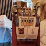 Victorian chemist at Saltburn care home