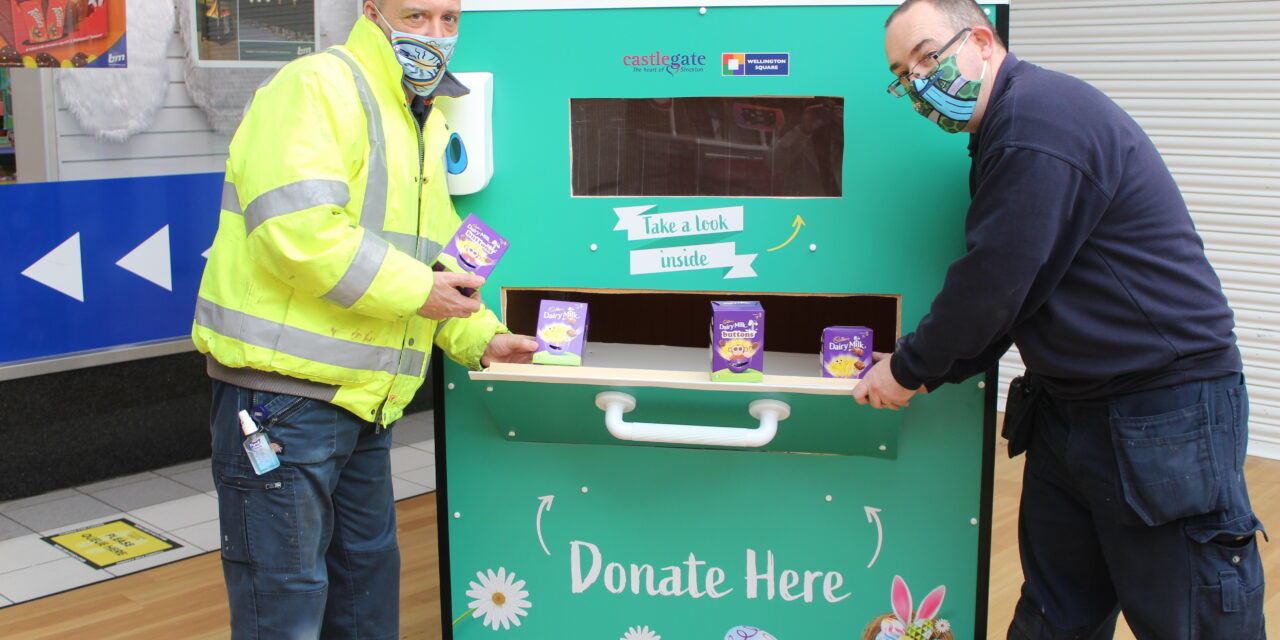 BE A GOOD EGG THIS EASTER AND DONATE AN EASTER EGG!