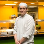 Award winning apprentice chef whips up healthy school meals