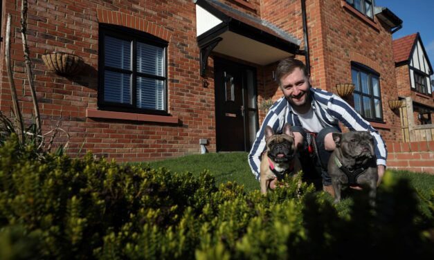 Buyers find 'pooch perfect' home at Roseberry Manor