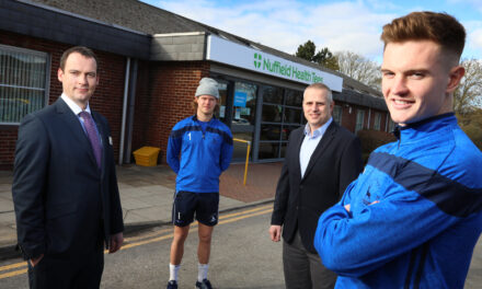 Nuffield Health Tees Hospital Sign Sponsorship Deal With Hartlepool United