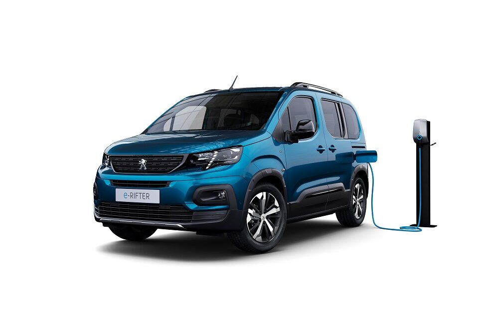 PEUGEOT launches new e-Rifter as it continues its electric vehicle expansion